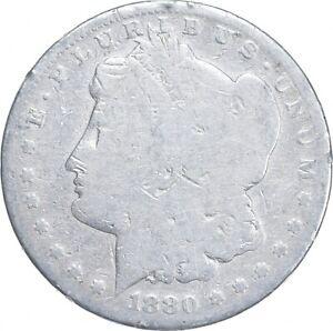 Early - 1880 Morgan Silver Dollar - 90% US Coin *357