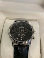 Montblanc Tradition Chronograph Black Men's Watch 117047