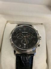 Montblanc Tradition Chronograph Black Men's Watch 117047