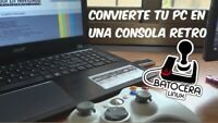 VERSION PARA PC 64 bits, USB BOOTABLE.RECALBOX 6, 16 GB, TOP 500 juegos.Descarga