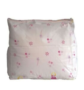 Childrens Room Pink Fairy Princess Novelty Indoor Pre Filled Beanbag Cube Seat