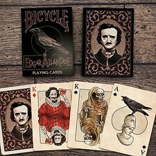 Bicycle edgar allan poe Playing Cards poker juego de naipes