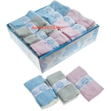 2 BABY BOY GIRL FACE FLANNELS FACE CLOTHS-LOVELY SOFT 100% COTTON-LOVELY COLOURS