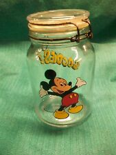 """New listing Walt Disney Company Mickey Mouse 8"""" Goodies Jar Cookie/ Candy"""