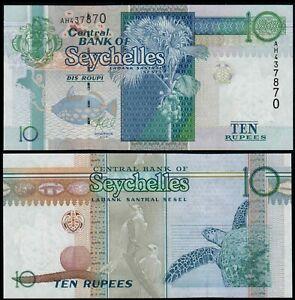 SEYCHELLES 10 RUPEES (P36c) 2013 UNC