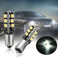 2pcs BAX9S 150° H6W 24 LED 2835 SMD 12V Veilleuse Ampoule Feux de Position Stop