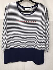 GREAT LOOKING STRIPPED TUNIC with STAR DETAIL size XL
