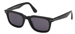 Tom Ford DARIO FT0817-N Black/Smoke 53/21/145 unisex Sunglasses
