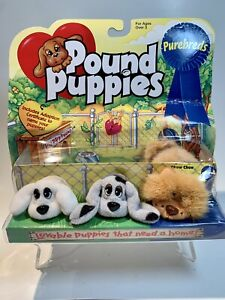Vintage Pound Puppies Purebreds Mini Lot Of 3 (unopened) Chow Chow +