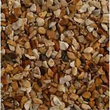 More details for long rake spar golden (corn) marine flint shingle 10mm 20kg gravel stone pebble