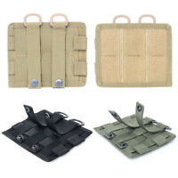Hunting Pouch Hook Loop Molle Nylon Radio Walkie Talkie Holder Bag Mag Pouch