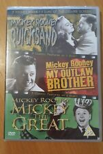 3 Classic Mickey Rooney Film Of The Silver Screen Quicksand My Outlaw Brothe new