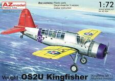 """AZ Model 1/72 Vought OS2U Kingfisher Mk.I """"Wheeled Version"""" # 7624"""