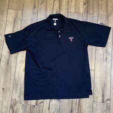 Philadelphia Phillies MLB Black Golf Polo Antigua Men's Large embroidered