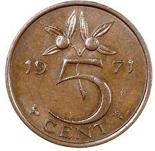 Netherlands 5 Cent 1971 №5762