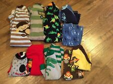Boys Size 2T Pajamas~Lot Of 11~Carter's, Disney~EC