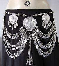 Womens Fashion Coin Belt Tribal Fusion Kuchi Boho Gypsy Festival Bellydance Gift