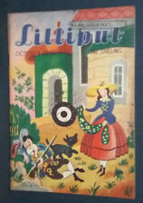 """Revue anglaise """"Lilliput"""" October 1948 Vintage photos, gags, illustrations ..."""