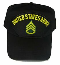 US ARMY STAFF SERGEANT SSG E-6 RANK HAT CAP ENLISTED SOLDIER NON COM