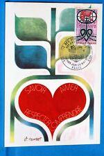 SCIENCES D OUTREMER    FRANCE CPA Carte Postale Maximum  Yt 1760 C
