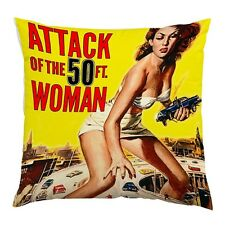 ATTACK OF THE 50FT WOMEN CUSHION