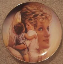 Diana Princess of Wales Franklin Mint Heirloom Queen of Compassion Plate