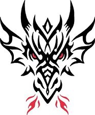 Tribal Dragon Car Camper Van Truck Window Stickers #15