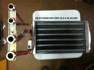 Junkers Wärmetauscher, Wärmeblock, Art-Nr.87154061440 ZWR18-3 und -4 Regeneriert