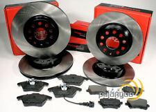 Audi A3 [8P] - Metzger Bremsscheiben Bremsbeläge Bremsen für vorne und hinten