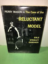Perry Mason The Case of the Reluctant Model by Erle Stanley Gardner 1962 HC/DJ