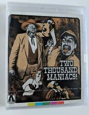 TWO THOUSAND MANIACS H.G. LEWIS SPECIAL EDITION Blu-ray BRAND NEW First Pressing