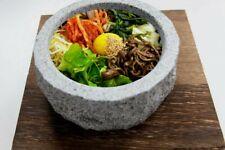 Higoshi-coreano dolsot bibimbap SIZZLING HOT Tazón De Cocina De Piedra Natural