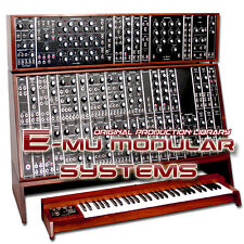 E-MU MODULAR SYSTEMS - THE VERY BEST OF/UNIQUE ORIGINAL SAMPLES LIBRARY on DVD