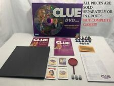 U-PICK 2006 Clue DVD Board Game Replacement parts and pieces