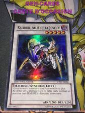 OCCASION Carte Yu Gi Oh KALIDOR, ALLIE DE LA JUSTICE CT10-FR006