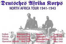 Afrika Korps  ww2 concert tshirt rommel