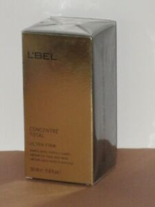 L'BEL CONCENTRE TOTAL ULTRA FIRM SERUM (FACE & NECK) 50 ml. SEALED BOX-NEW!