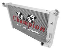 3 Row Performance Champion Radiator for 1973 - 1976 Chevrolet Corvette V8 Engine