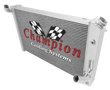 4 Row Western Champion Radiator for 1973 74 75 1976 Chevrolet Corvette V8 Engine