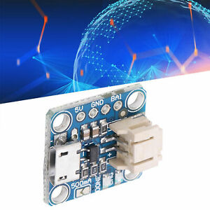 Charging Board 5V Input Micro-B Interface Charging Module with Pin for LiPoly