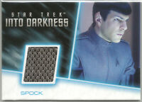 Star Trek Movies 2014 Into Darkness ~ COSTUME/RELIC CARD RC11 Spock #174/300