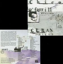 CHICO O'FARRILL  cuban blues : the Chico O'Farrill sessions / 2 CDs
