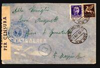Libya 1941 Tripoli APO Cover to Italy / Italy Stamps - Z17695