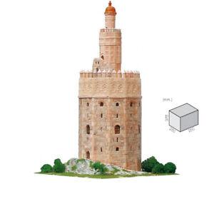 Aedes Ars - Stein Modellbau Torre del Oro Goldturm Sevilla Spanien 1:100
