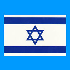 Israeli Flag Iron on DIY Screen Print for fabric Transfer Israel country patch