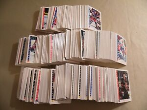 Lot of 650+ 1993 Score Hockey Trading Cards / Free Domestic Shipping