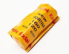 1 roll 120 Kodak New Portra 160 ISO color print film negative expired 2015