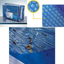 Telo di copertura isotermica estivo per piscine ovali Gre da 730x375 cm