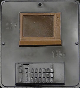 Television with Remote TV Chocolate Candy Mold  1221 NEW