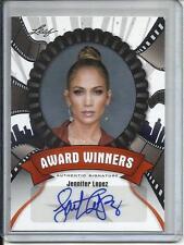 Jennifer Lopez 2012 Leaf Pop Century Autograph